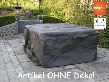 Schutzhülle L Abdeckung rechteckig 245x150cm für Gartenmöbel, Plane wasserdicht