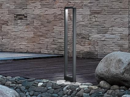 LED Pollerleuchte Anthrazit 100cm - Moderne Terrassenbeleuchtung Wegeleuchte