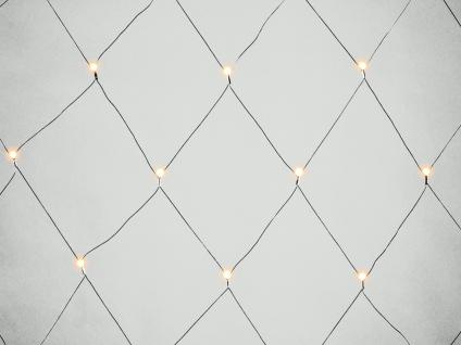 LED Lichternetz Außenbeleuchtung 80 LEDs 9h Timer IP44 2x2 m Dekoleuchte Garten