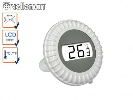 Ersatz Poolsensor für Velleman Funk Pool Thermometer WS9068, Wasserthermometer - Vorschau 1