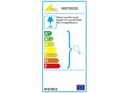 Dimmbare Antik Look Deckenlampe mit 3 LEDs & Blätterdesign aus Metall rostfarbig - Vorschau 3