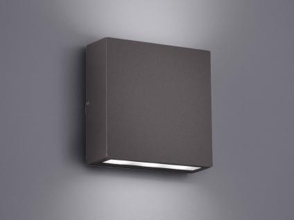 LED Außen-Wandleuchte THAMES, anthrazit, UP/DOWN 2 x 3 Watt, IP54