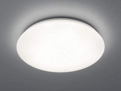 Dimmbare LED Deckenleuchte, Deckenschale Badbeleuchtung Weiß Ø 50cm IP44