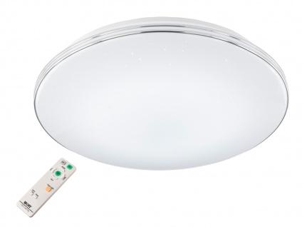 Dimmbare LED Deckenlampe rund Ø 54cm mit Farbwechsel Fernbedienung Sternenhimmel