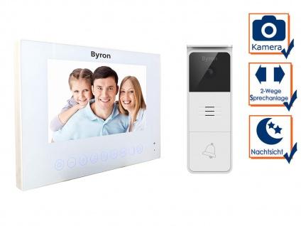 Moderne Einfamilienhaus Videotürsprechanlage, Nachtsichtkamera & 7 Zoll Display