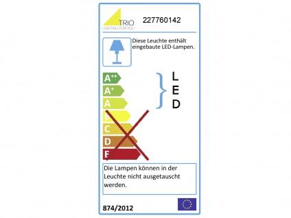 LED Wandlampen SET für draußen - 2 Hausnummernleuchten, Aluminium Anthrazit IP54 - Vorschau 4