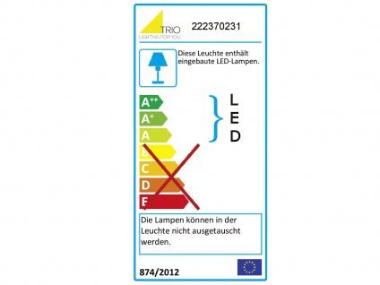 LED runde Wandlampe mit mehreren Lichtquellen, getrennt schaltbar, weiß matt - Vorschau 4