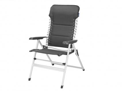 SET 2 stabile bequeme Balkonstühle klappbar Liegestuhl Campingstühle Klappstühle - Vorschau 3