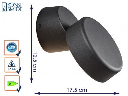 Außenwandleuchte Wandstrahler VICENZA, schwarz, 4 Watt HP-LED, 230 Lumen