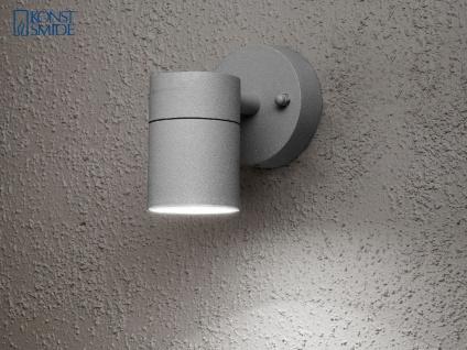 Terrassen Wandleuchte MODENA Anthrazit Downlight Außenwandlampen Aussenlicht - Vorschau 3