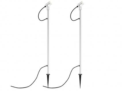 2er LED-Erdspießstrahler Erdspießleuchte Gartenstrahler Außenstrahler MONZA - Vorschau 2