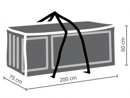 Schutzhüllen Set XXL: Abdeckung für Gartenmöbel 310x180cm + 2x Polsterhülle - Vorschau 4