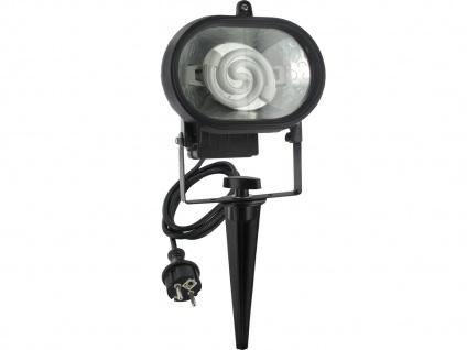 Gartenstrahler mit Erdspieß & Sicherheitsglas Außenbeleuchtung Gartenlampen ELRO