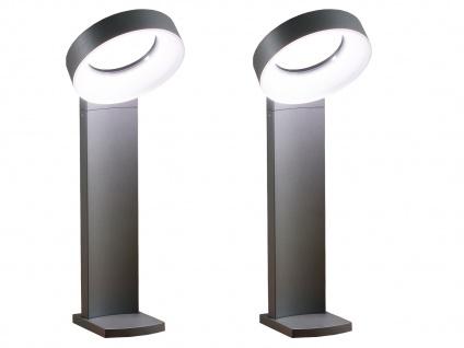 2er-Set Wegeleuchten ASTI, anthrazit, 18W HP-LEDs, 1400 Lumen, 5000K - Vorschau 2
