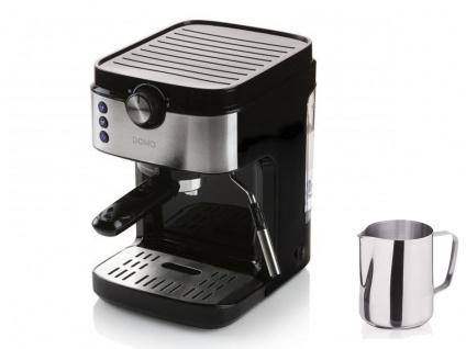 Espressomaschine mit Milchaufschäumer & Milchkännchen, Siebträger Kaffeemaschine - Vorschau 2