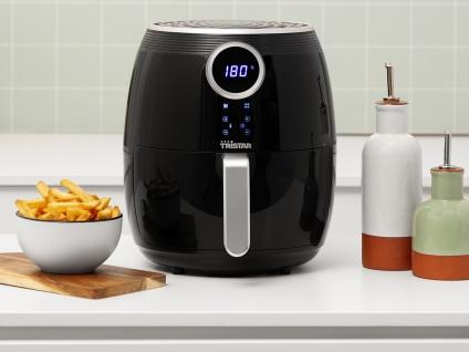 Digitale Heißluftfritteuse XXL Umluft Crispy Fryer ohne Öl, 4, 5 Ltr. 1500Watt - Vorschau 4