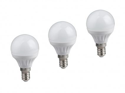 Nicht dimmbares E27 LED Leuchtmittel 3er SET warmweiß 5W & 400lm, tropfenförmig - Vorschau 2