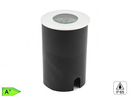LED Bodeneinbaustrahler, Ø 8, 8 cm, 240Lm, IP65, belastbar bis 1500kg