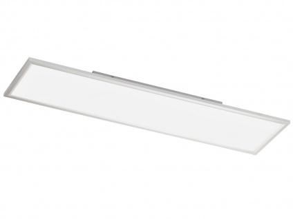Flache LED Deckenleuchte 30x120 cm eckig Ultraslim Paneel Deckenbeleuchtung Büro