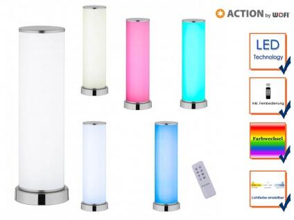 LED Tischleuchte mit Fernbedienung Lichtfarbe Dimmer & Farbtemperatur Partylicht