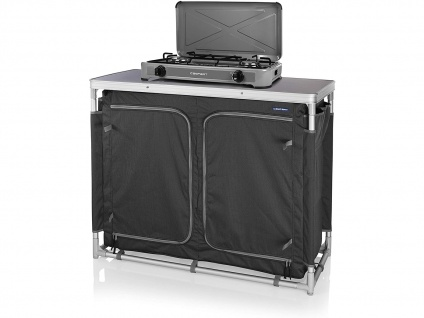 Tragbarer Gaskocher Campingkocher, 3 kW, 2 Kochplatten Edelstahl Brenner OUTDOOR - Vorschau 4