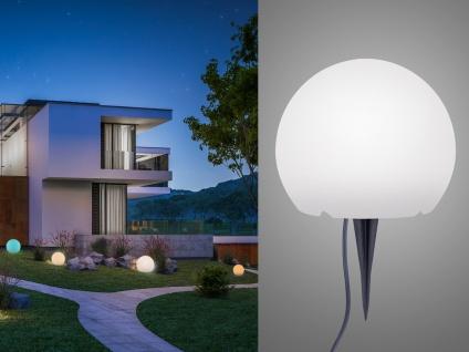 LED Kugelleuchte für den Garten Strom Ø30cm smarte Lichtsteuerung WIZ Dekokugeln