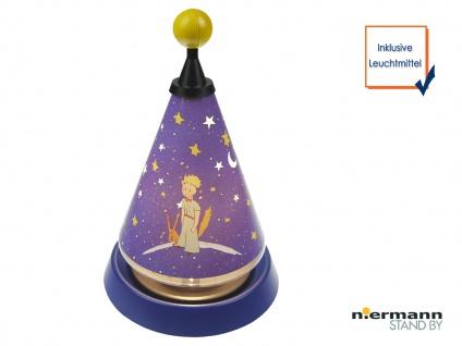 Carrousel Nachtlicht projiziert Mond und Sterne ins Kinderzimmer Tischleuchte