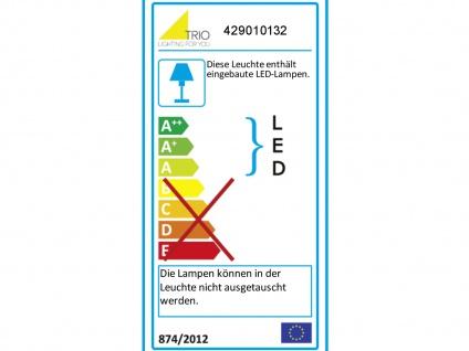 Dimmbare LED Ringleuchte für den Flur stehend, flache ovale Stehlampe Wohnzimmer - Vorschau 3