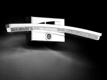 LED Wandleuchte mit Dimmer, Chrom / Acrylgas, Wofi-Leuchten - Vorschau 4