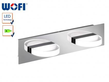 LED-Wandleuchte / Deckenleuchte Chrom poliert, Wofi-Leuchten