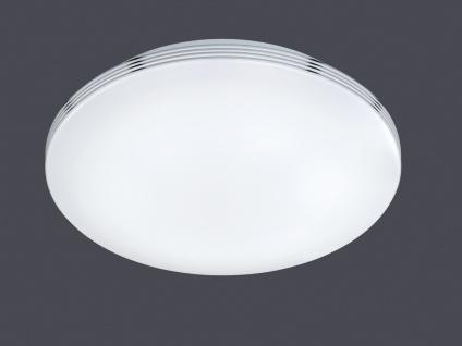 LED Deckenleuchte Badezimmerlampe APART Chrom Acryl weiß Ø 41 cm - Vorschau 3