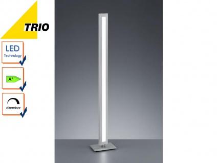 Trio Design LED Stehlampe SILAS mit Dimmer, Wohnzimmerleuchte Standlampe dimmbar