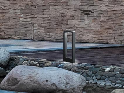 LED Sockelleuchte in Anthrazit 50cm - Moderne Terrassenbeleuchtung Wegeleuchten