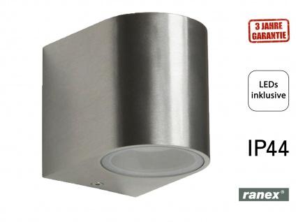 SMD-LED Wandleuchte Außenwandleuchte, downlight, 230Lm, IP44 RANEX