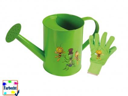 Gartenspielzeug -DIE BIENE MAJA- Gießkanne Gartenhandschuhe