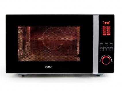Domo 3-in-1-Mikrowelle mit Grill und Konvektion, 10 Programme, DO2342CG