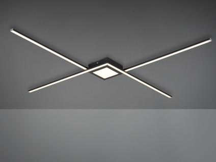 Coole LED Deckenlampe für große Galerie Räume, flache Esszimmerleuchten Esstisch