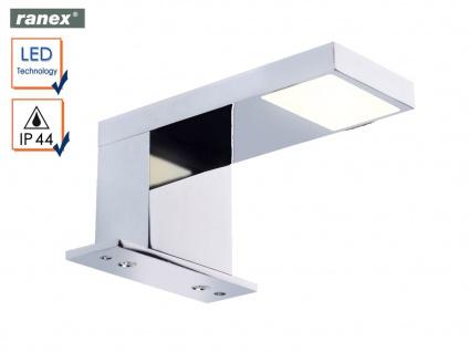 Moderne LED Badleuchte Spiegelleuchte Badezimmerleuchte Feuchtraumleuchte Chrom - Vorschau 1