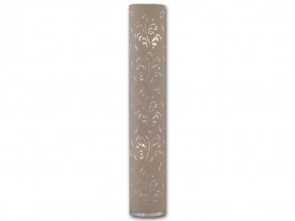 Stehlampe Stehleuchte FLORA H: 110 cm Stoffschirm in cappuccino Honsel Leuchten