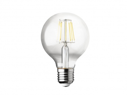Filament LED dimmbar E27 Leuchtmittel Vintage Klares Glas 7 Watt 806 Lumen 2700K - Vorschau 2