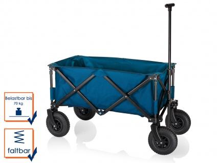 Faltbarer Klappbollerwagen mit Luftreifen für Kinder klappbarer Faltbollerwagen - Vorschau 2