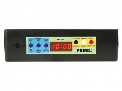 Chronometer / Uhr für Sportwettkämpfe mit Countdown Stoppuhr Intervallzeit Alarm - Vorschau 3