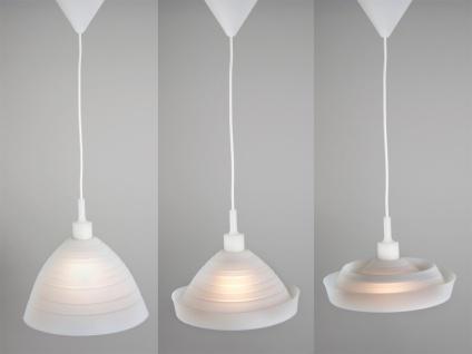 Hängeleuchte SILLY, Silicon weiß, verwandelbar, Ø 30cm, Ranex