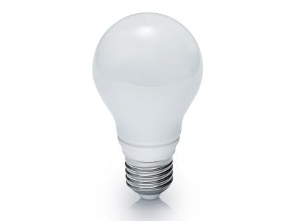 E27 LED Leuchtmittel mit 5 Watt & 400 Lumen warmweiß, nicht dimmbar, Glas weiß