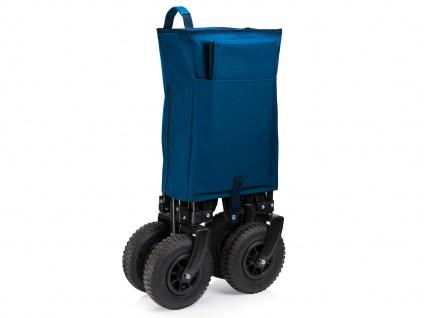 Faltbarer Klappbollerwagen mit Luftreifen für Kinder klappbarer Faltbollerwagen - Vorschau 5