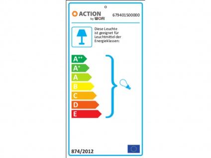 Markante Außenleuchte / Gartenlampe als Hängelampe grau, Outdoor, E27 Fassung - Vorschau 3