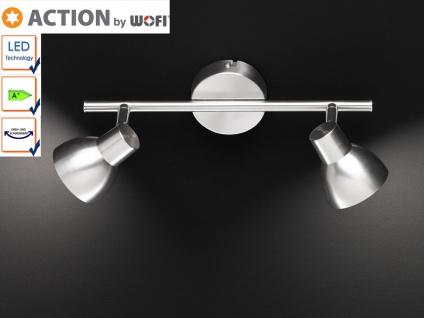 LED Deckenlampe / Deckenstrahler, Spots schwenkbar, Action by Wofi