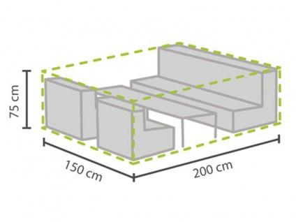 Schutzhülle Abdeckung S für Loungemöbel, 200x150cm, Abdeckplane Lounge Garten