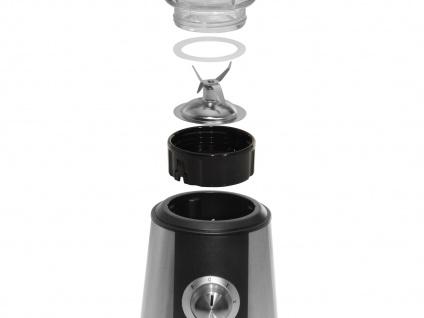 Glas Standmixer Edelstahl 500W 1, 5 Liter, Blender Smoothie Maker Bar Mixer - Vorschau 2