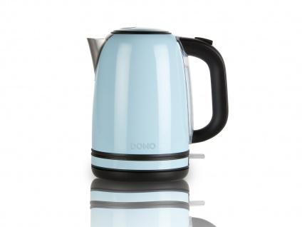 Frühstücksset im Retro Design Blau Filterkaffeemaschine Wasserkocher und Toaster - Vorschau 5